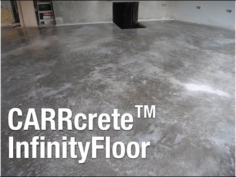 Polished Concrete Floors Bath Youtube