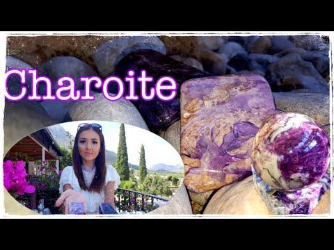 ЧАРОИТ - волшебный и загадочный камень | CHAROITE | Моя коллекция чароитов | Свойства и магия камня.