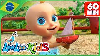 Reme Reme Seu Barco | rima de berçário| LooLoo Kids Português