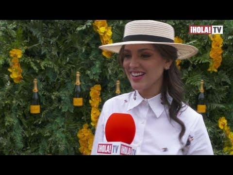 Eiza González reveló por qué usó el vestido amarillo en los Premios Oscar  La Hora ¡HOLA!