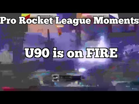 Pro Rocket League Moments: U90 is on FIRE thumbnail