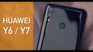 Обзор Huawei Y6, Y7 2019