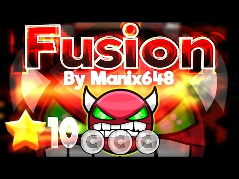 Geometry Dash 2.0 - We're Gonna need bigger boat :) 'Fusion' 100% By Manix648 [Hard Demon]