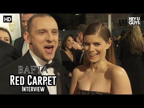 Jamie Bell & Kate Mara (Film Stars Don't Die in Liverpool) - BAFTA Awards 2018 Red Carpet Interview