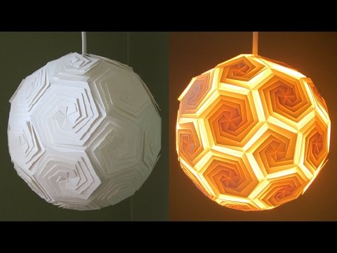 DIY pendant lamp/lantern - home and room decor - EzyCraft