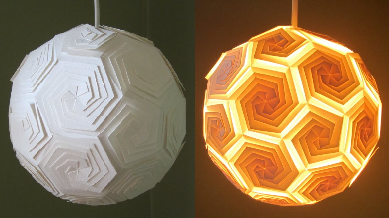 DIY Pendant Lamp/lantern   Home And Room Decor   EzyCraft   YouTube