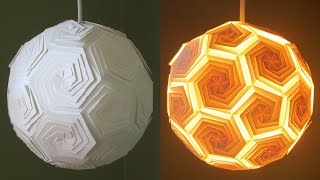 DIY pendant lamp/lantern - home and room decor - EzyCraft