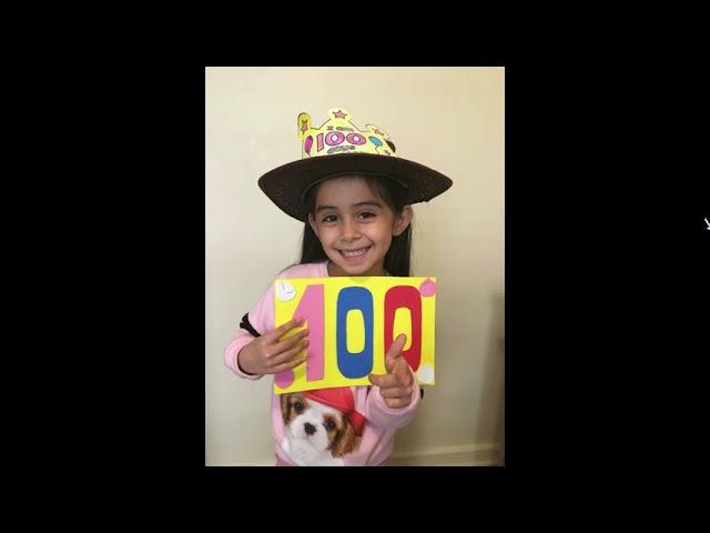 En kínder celebramos los primeros 100 días de clases online - Pumahue Huechuraba