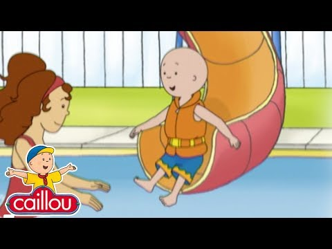 Caillou and the BIG SLIDE  Cartoons for children  Cartoon Movie  Funny Animated cartoon