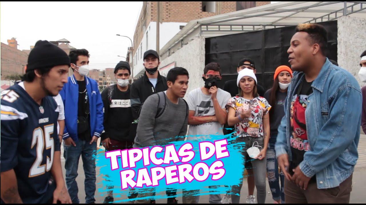 TIPICAS DE RAPEROS (BATALLA DE GALLOS- FMS)- SAMIR VELASQUEZ