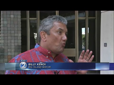 Hawaii County mayor apologizes, stops using government credit card