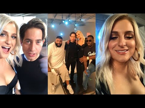 Meghan Trainor | Instagram Live Stream | 17 November 2017 w/ Charlie Walk , DJ Khaled & Diddy
