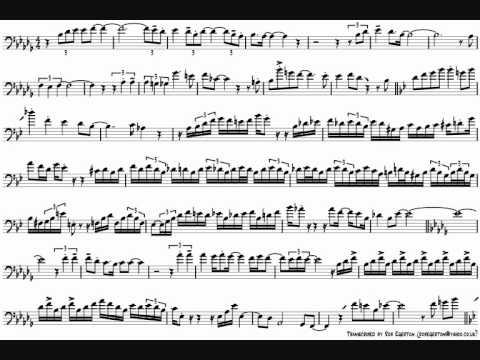 Frank Rosolino 'Rock Bottom' Trombone Solo Transcription