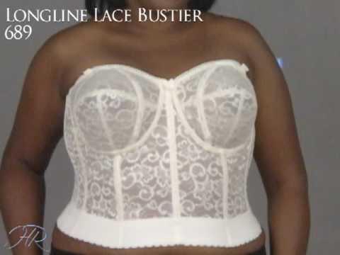 5f24f457227 Goddess Lace Longline Bra 689 - YouTube