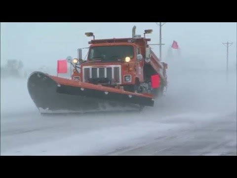On the Job with Julie Hudson, a MnDOT snowplow operator