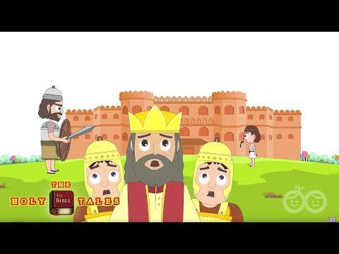 David and Goliath I Popular Bible Stories I Animated Children's Bible Stories | Holy Tales