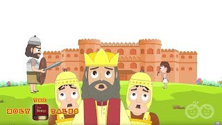 David and Goliath I Popular Bible Stories I Animated Children's Bible Stories
