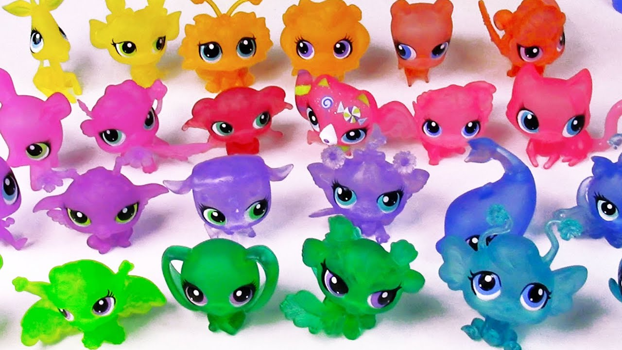 Lps Blind Bags Clear Collection Littlest Pet Shop Toy Review Rainbow