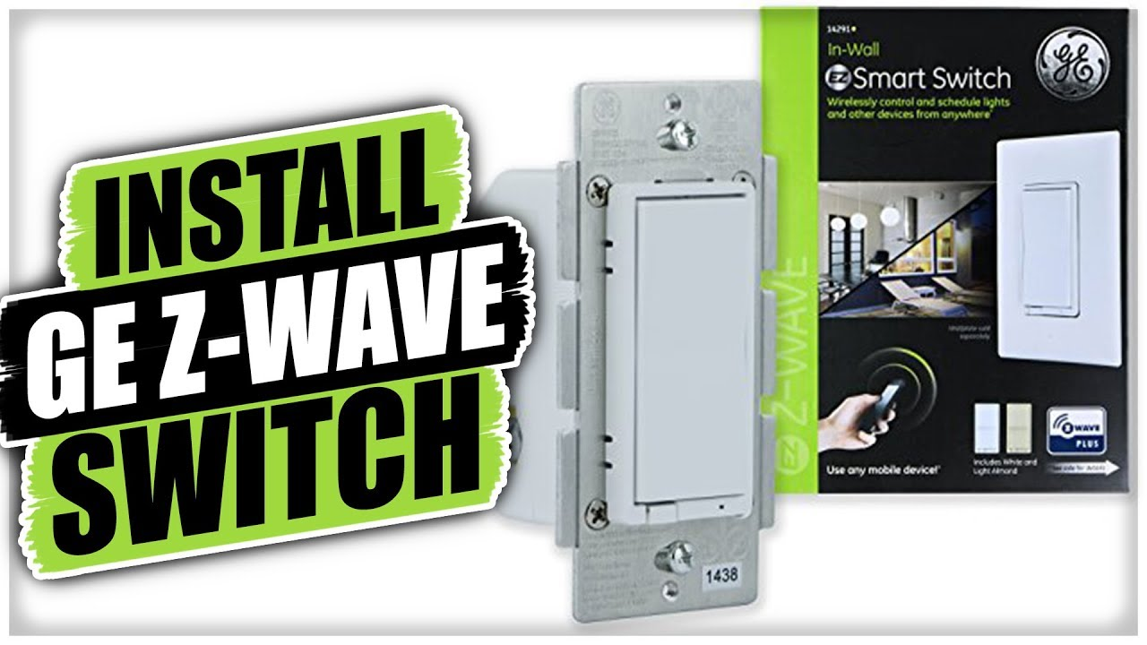 How To Install A Ge Z Wave Light Dimmer Switch