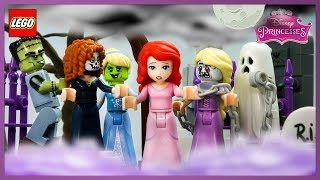 ♥ LEGO Disney Princess Ariel SCARY STORIES Stop Motion Animation Cartoon for Kids
