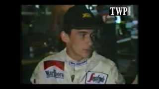 Ayrton Senna Alfineta Nelson Piquet