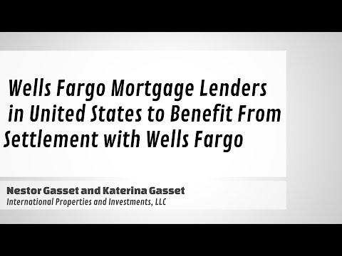 Wells Fargo Mortgage Lenders In United States To Benefit From