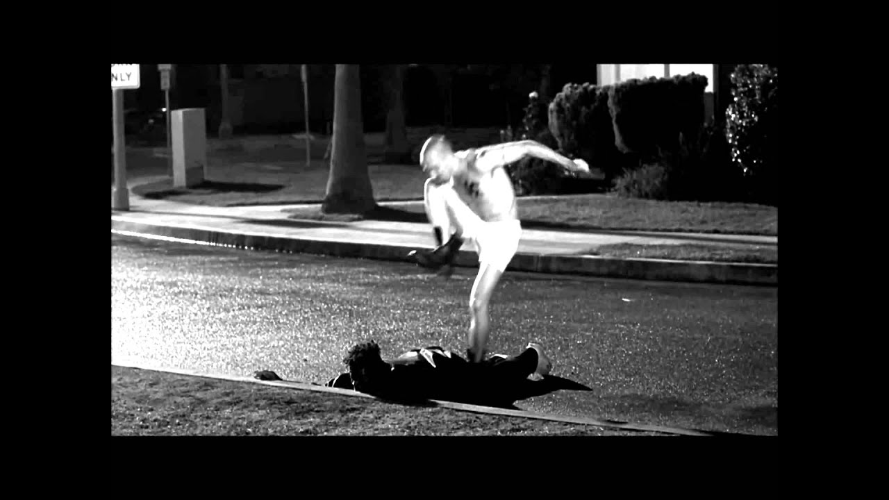 American History X Epic Curb Stomp With Music From