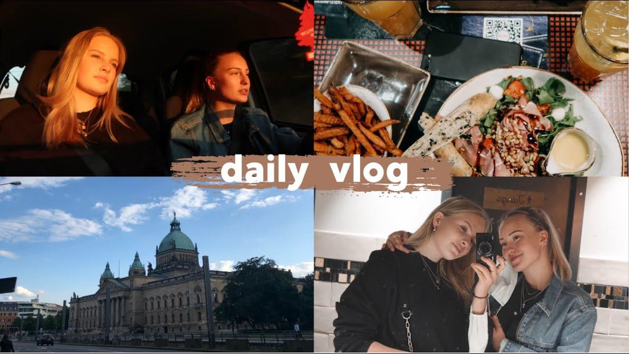 DAYTRIP TO LEIPZIG x Eveline | shoppen, essen & dumme challenge| Hanna Marie