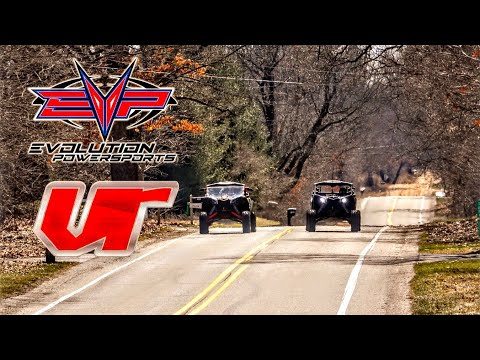 Battle Of The Tunes! EVO Vs VR! Can Am Maverick X3 Tune! DRAG RACE!