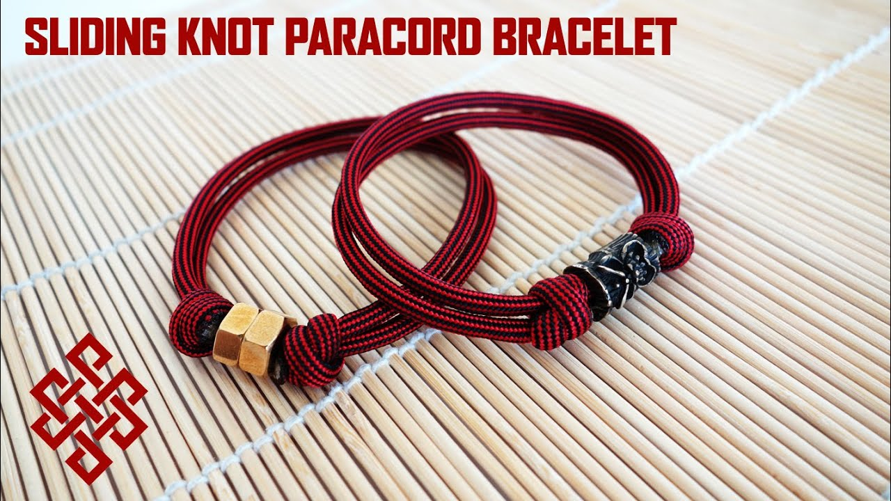 single sliding knot bracelet simple sliding knot bracelet craftbnb 6323