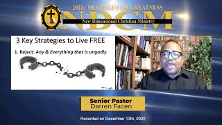 Living As Those Made Alive In Christ: Live Free