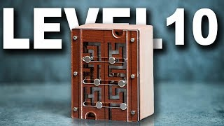 Solving the LEVEL 10 MAZE PUZZLE! (There's a surprise inside!)