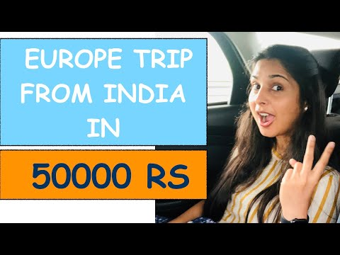 Plan Trip To Europe From India | Lake Como Italy | Europe Trip From India |Budget Tour | Desi Couple