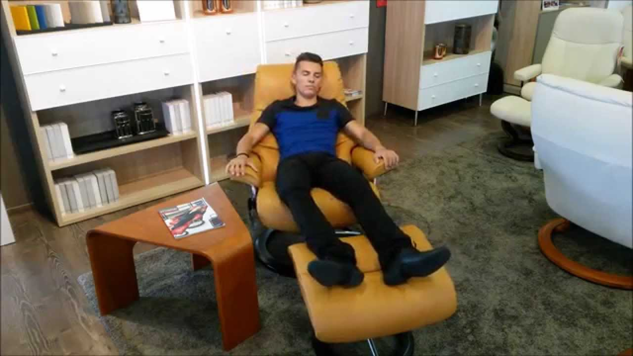 fauteuil stressless view relaxation magasin meubl a nort sur erdre youtube. Black Bedroom Furniture Sets. Home Design Ideas