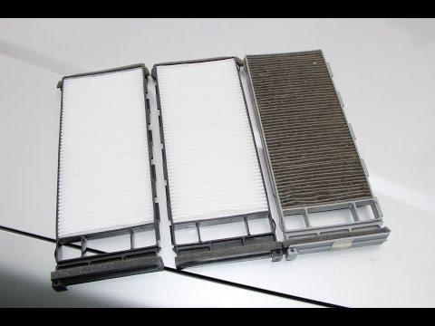 Как поменять салонный фильтр автомобиля NISSAN