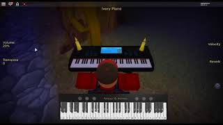 I'm Blue - Europop by: Eiffel 65 on a ROBLOX piano. [Revamped]