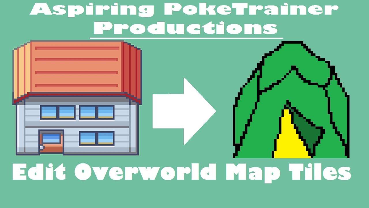 Edit the overworld map tiles tutorial pokemon rom hack youtube gumiabroncs Gallery