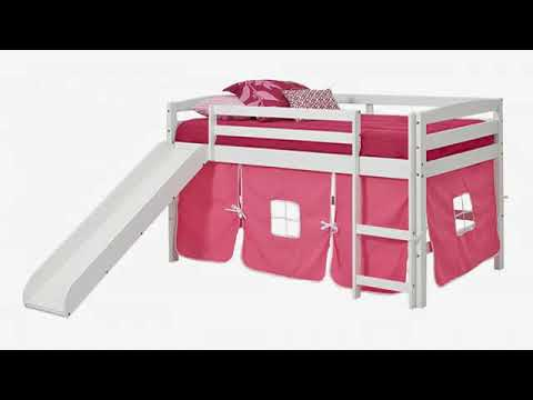 Must See Kids Furniture Review Donco Kids Twin Loft Tent Bed With