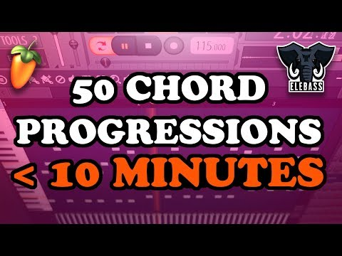 50 SONG CHORD PROGRESSIONS IN UNDER 10 MINUTES