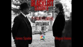 The Blacklist || *fan video* Trailer/Promo Season 6 January 2019 - 3th & 4th ! 2-NIGHT Premiere