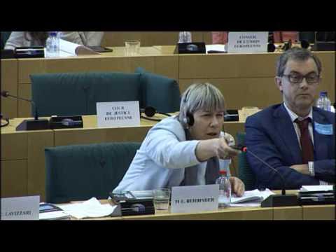 LIBER speaks to the European Parliament Committee on Legal Affairs (JURI)