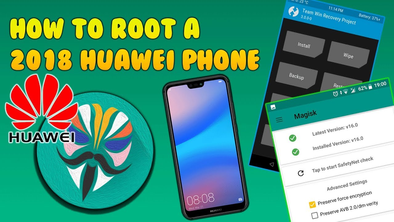 [Tutorial] How To Root Your 2018/19 Huawei Device With Magisk