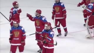 ЮЧМ-2017. Матч за бронзу. Россия - Швеция - 3:0