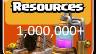 Clash of clans: Biggest & best loot raid ever 2014! Over 1,000,000!!