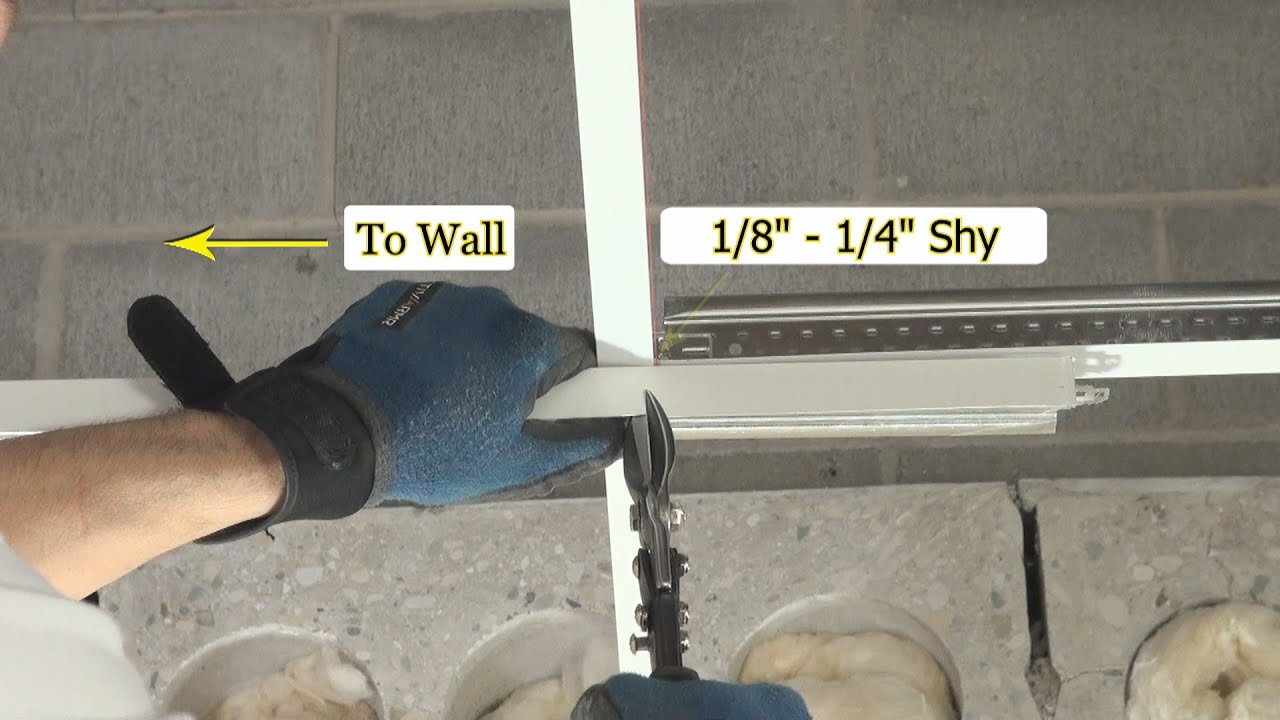 Tools required for drop ceiling installation youtube doublecrazyfo Choice Image