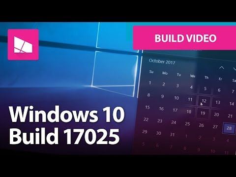 Windows 10 Build 17025: Reveal Effects, Mail, Settings + MORE