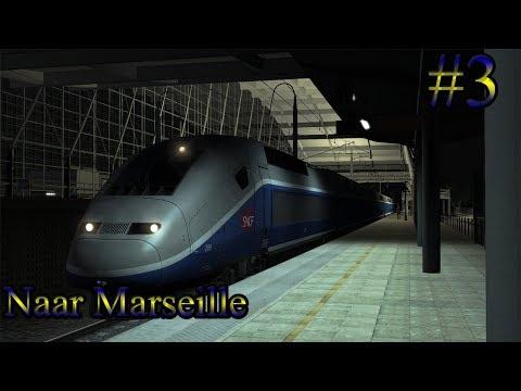 Met de TGV naar Marseille   - Train Simulator 2017