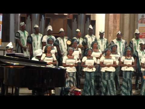 Lagos City Chorale Ndi na ele anya Jehova @European Choir games Magdeburg