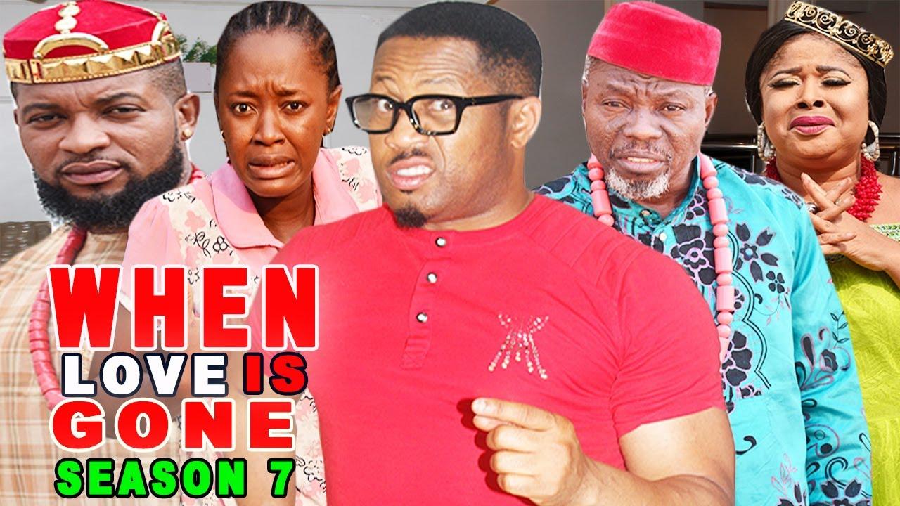Download WHEN LOVE IS GONE SEASON 7-(Trending New Movie)Mike Ezuruonye 2021 Latest Nigerian New Movie Full HD