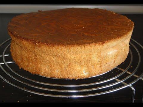 Как приготовить очень вкусный бисквит Женуаз.